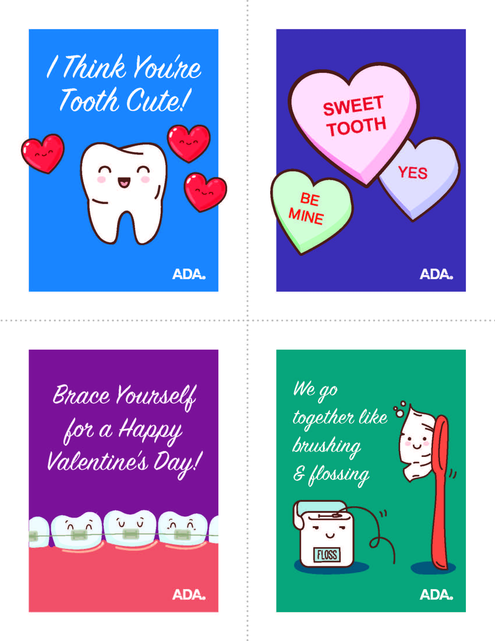 Western Dental Kids - Valentine Card 1