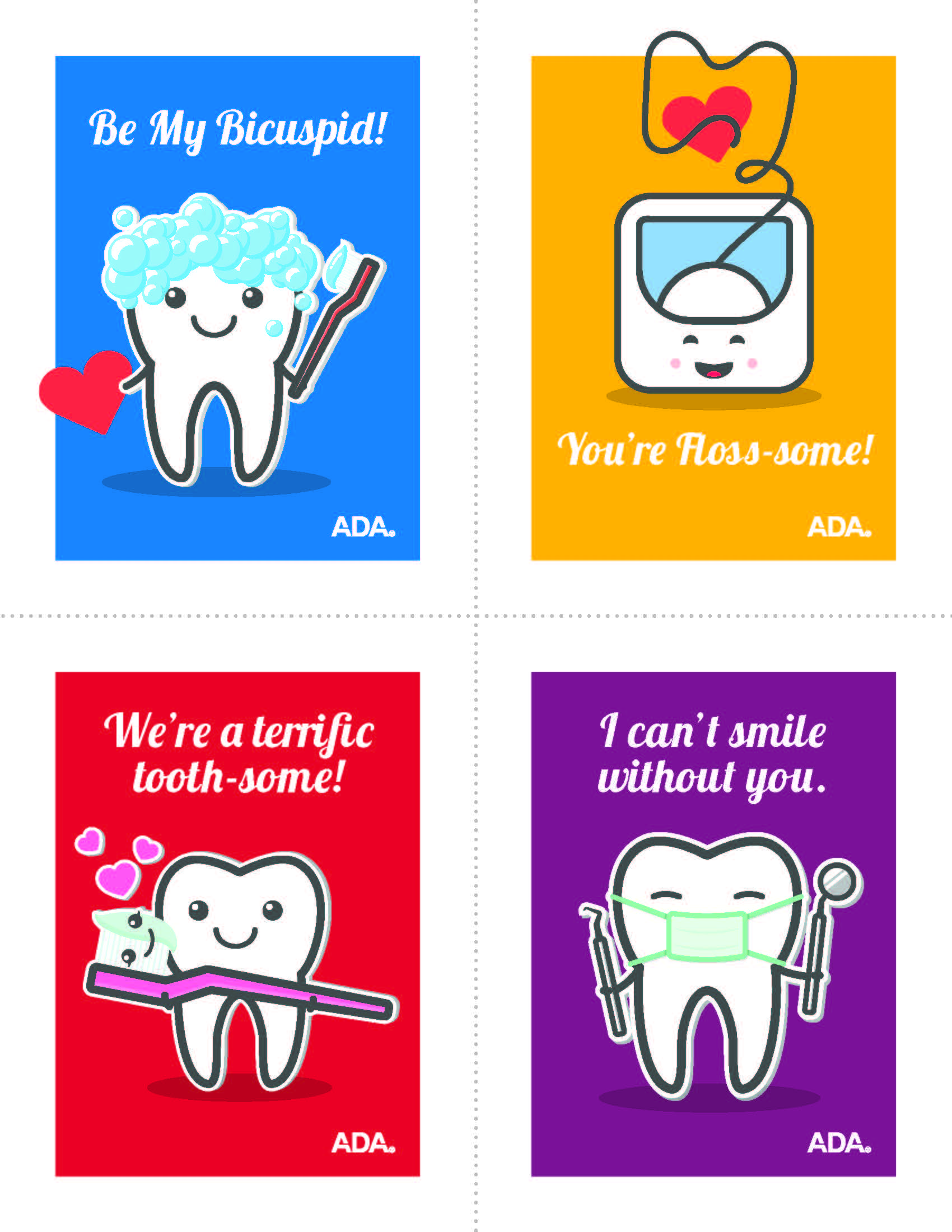 Western Dental Kids - Valentine Cards 3