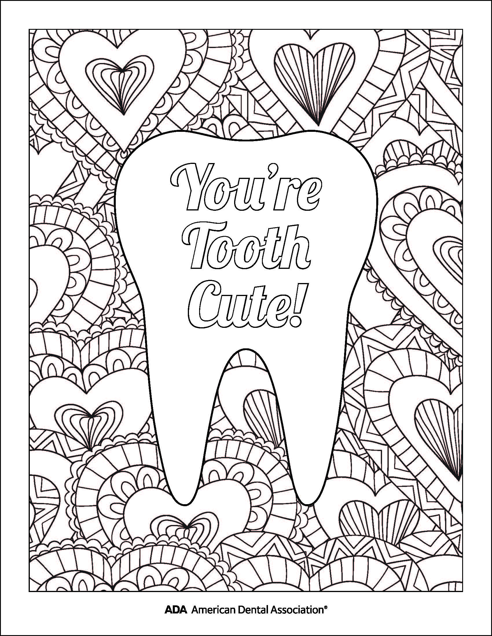 Western Dental Kids - Coloring Sheet